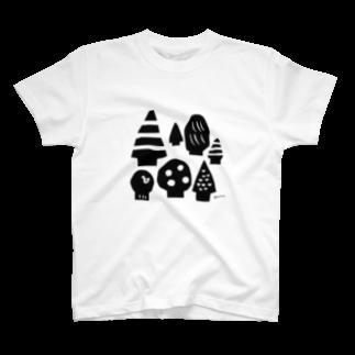 ponieのえほんの森 T-shirts