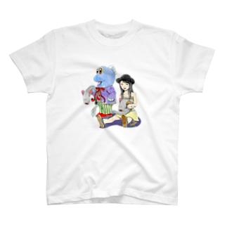 ガタリナとワラスボ T-shirts