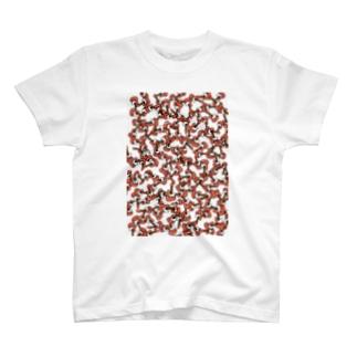 【ツナギタイ】コンガラガル画006 T-shirts