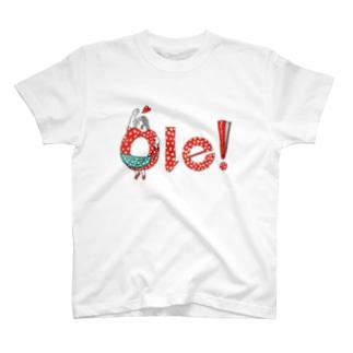 Ole! Soy flamenca! Tシャツ