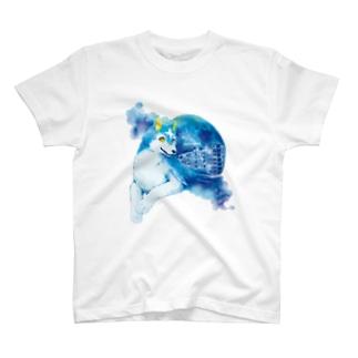 フルドと銀河Tシャツ T-shirts