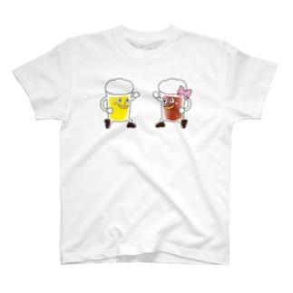 ビアラバ君Tシャツ_001 T-shirts