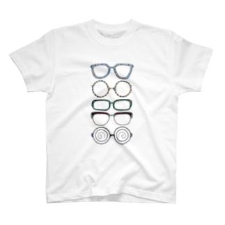 メガネ T-shirts