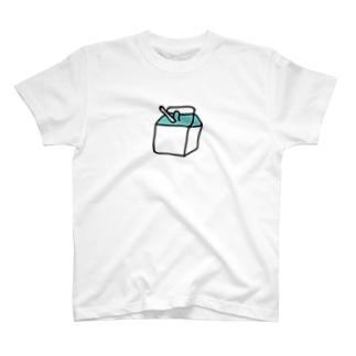 ぎゅうにゅう T-shirts