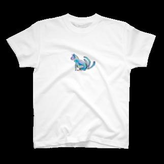 DecoLacertaの猫又 T-shirts