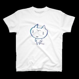DecoLacertaのねこちゃん T-shirts