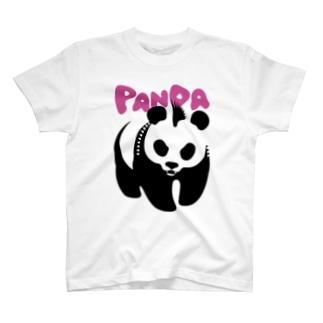 パンクパンダ T-shirts