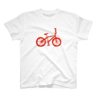 チャリT 赤 T-shirts