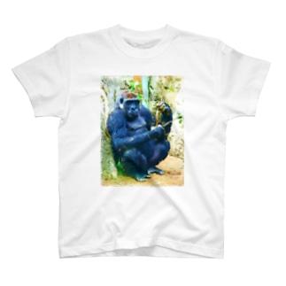 ゴリラ01 T-shirts