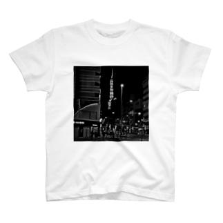 東京タワー04 T-shirts
