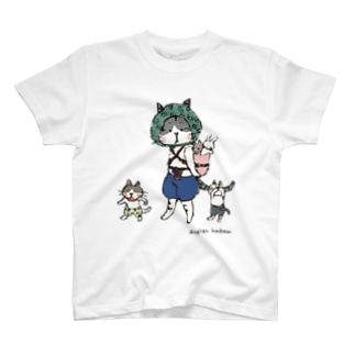 おんぶねこ T-shirts