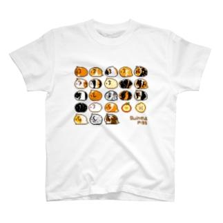 ドットモルモット T-shirts