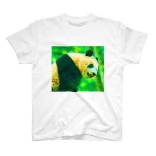 パンダ01 T-shirts