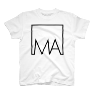 デカプリントロゴ collar.0 Tシャツ T-shirts