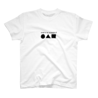 SIMPLE IS DIFFICULT T-shirts