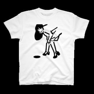 nakagaworksのHOLE T-shirts
