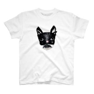 むにむに仮面 T-shirts