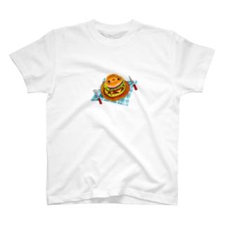 ネップくんハンバーガー T-shirts