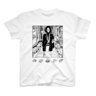 ニューヨークで寿司が食べたい人 T-shirts