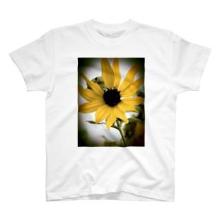 向日葵(一輪) T-shirts