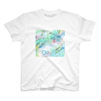 もやがかった朝 T-shirts