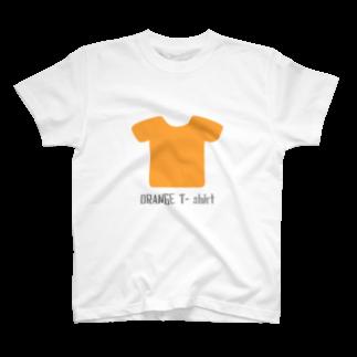 ばんたくのアジトのオレンジTシャツ T-shirts