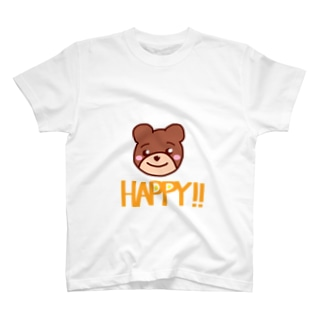 HAPPYクマくん T-shirts
