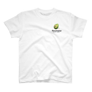 focarena on white background T-shirts