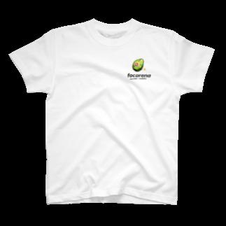 Designer YKのfocarena on white background T-shirts