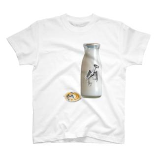 ジャージー牛乳 T-shirts
