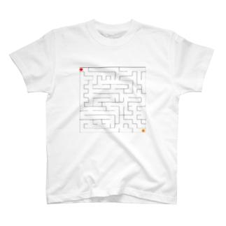 迷路 T-shirts