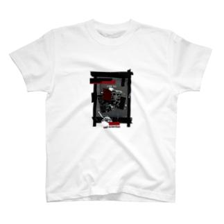 """sad scientist """"Serial"""" T 白 淡色専用 T-shirts"""