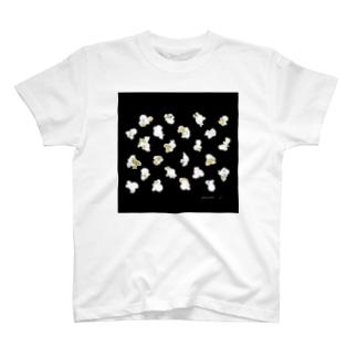 popcorn pack_black T-shirts