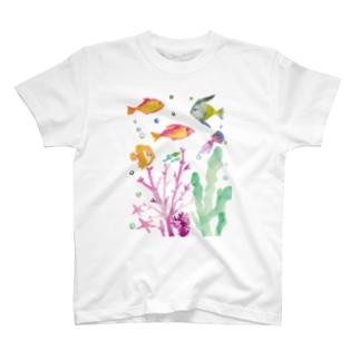 つれづれ魚 T-shirts