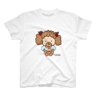 スイーツ大好きイチゴちゃん T-shirts