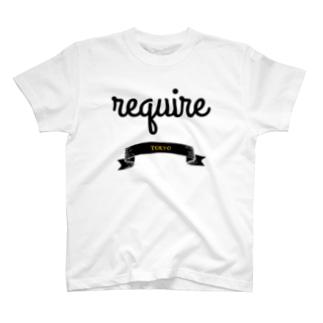ロゴ2 T-shirts