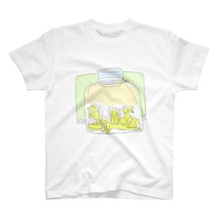 瓶詰め少女 T-shirts