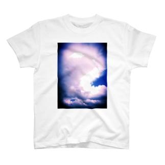 雲 Tシャツ
