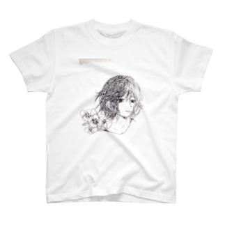 花と彼シリーズ T-shirts