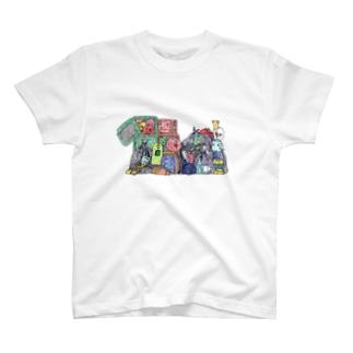 異星人生活日誌。のゴミ捨て場 T-shirts