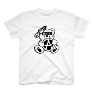 ANARCHY BEAR BL T-shirts