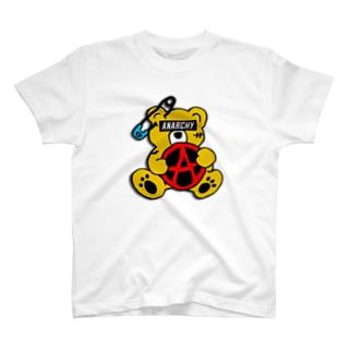 ANARCHY BEAR CO T-shirts