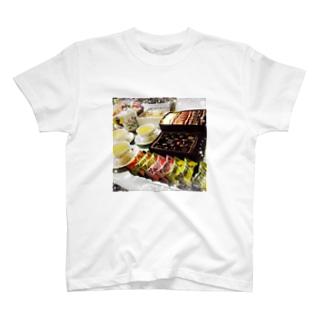 お茶会 T-shirts