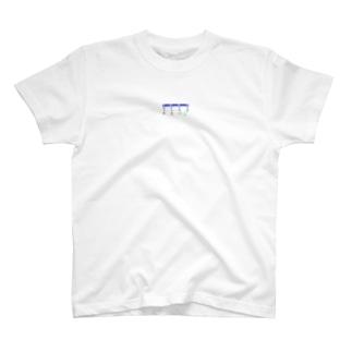 弐千京地下鉄東西線 初期開通時路線図 T-shirts