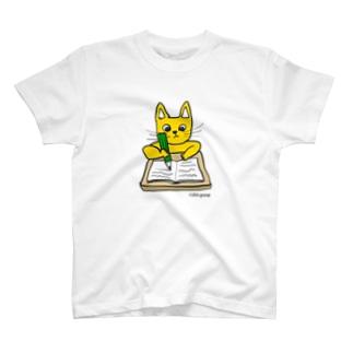 ガリバリ受験生ニャーンコ T-shirts