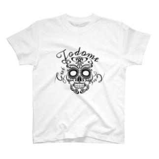 #todome#guiスカル T-shirts