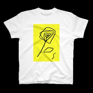 SAKI HOTAEのRomance of Y T-shirts