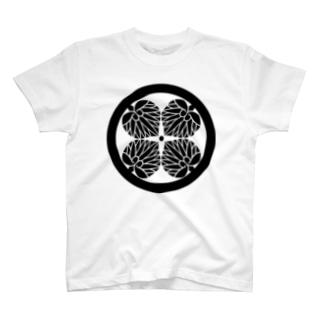 四つ葉葵 T-shirts