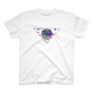 Magnetic eye T-shirts