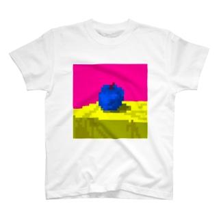 ピクセルりんごPsyche T-shirts